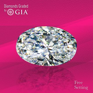 1.83 ct, D/IF, Oval cut GIA Graded Diamond. Unmounted. Appraised Value: $49,700
