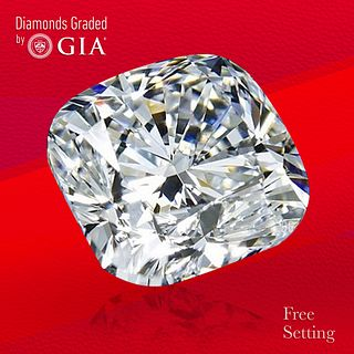 3.01 ct, E/VS2, Cushion cut GIA Graded Diamond. Unmounted. Appraised Value: $114,000