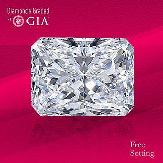 2.01 ct, E/VS1, Radiant cut GIA Graded Diamond. Unmounted. Appraised Value: $55,000
