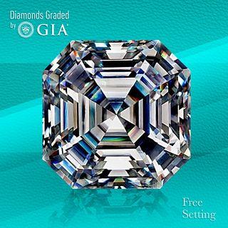 3.40 ct, F/VS2, Sq. Emerald cut GIA Graded Diamond. Unmounted. Appraised Value: $119,000