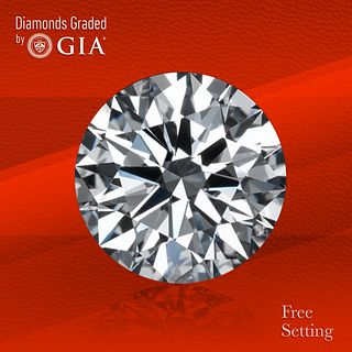 3.03 ct, G/VVS2, Round cut GIA Graded Diamond. Unmounted. Appraised Value: $149,000