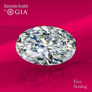 1.70 ct, E/VS2, Oval cut GIA Graded Diamond. Unmounted. Appraised Value: $24,800