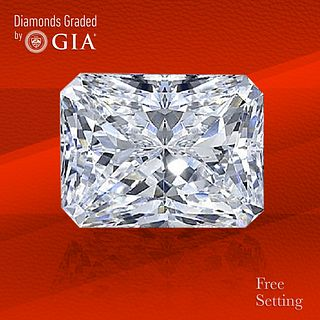 2.53 ct, D/VS2, Radiant cut GIA Graded Diamond. Unmounted. Appraised Value: $67,000