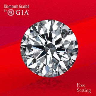 2.18 ct, E/VVS2, Round cut GIA Graded Diamond. Unmounted. Appraised Value: $88,000