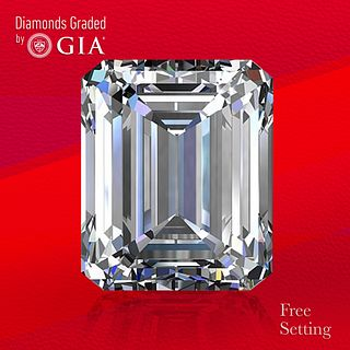 2.21 ct, E/IF, Emerald cut GIA Graded Diamond. Unmounted. Appraised Value: $76,000