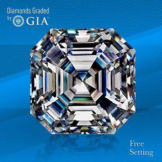 5.01 ct, E/VVS1, Sq. Emerald cut GIA Graded Diamond. Unmounted. Appraised Value: $689,000