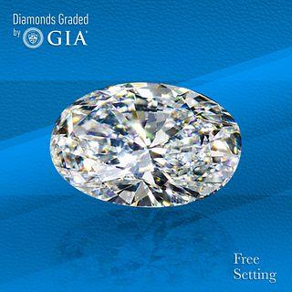 7.11 ct, E/VS2, Oval cut GIA Graded Diamond. Unmounted. Appraised Value: $656,000