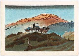 William Moyers Western Illustration Artwork