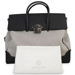 Versace Lifestyle Canvas Bag