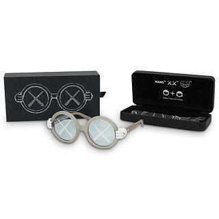 Kaws Sons + Daughters Eyewear Grey Sunglasses