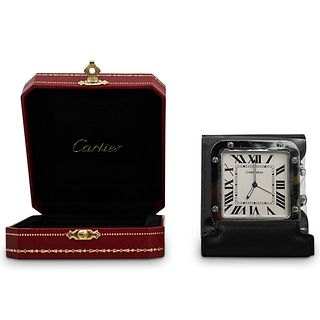 "Cartier ""Santos"" Travel clock"