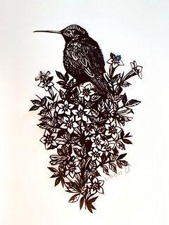 A bird bouquet