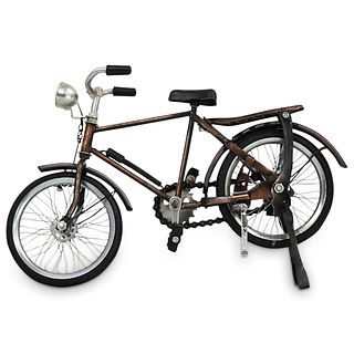Mid-Century Collectible Retro Bike Scale Model
