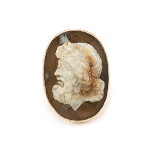 17TH CENTURY CAMEO RING