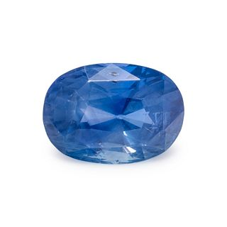 10.95 CARAT OVAL MODIFIED MIXED CUT SAPPHIRE