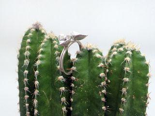 Rora Duet Ring Size 6.75