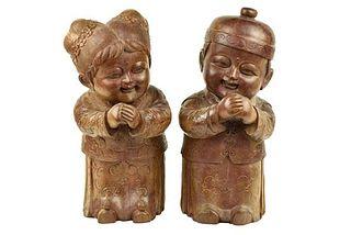 Pair of Chinese Children