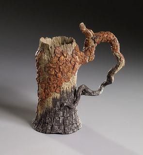 Charred Pine Bark Mug