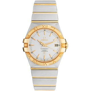OMEGA CONSTELLATION WATCH IN STEEL AND 18K YELLOW GOLD Movement: automatic