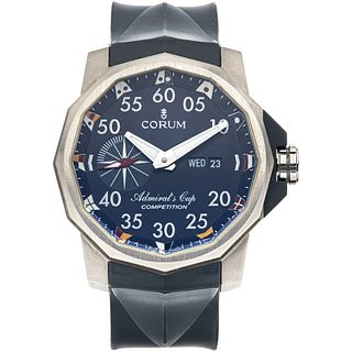 CORUM ADMIRAL´S CUP COMPETITION WATCH IN TITANIUM REF. 947.933.04  Movement: automatic