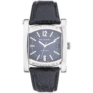 BVLGARI ASSIOMA WATCH IN STEEL REF. AA 44 S  Movement: automatic