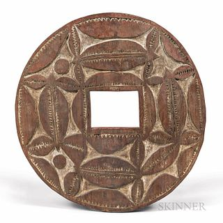 New Guinea Wood Plaque