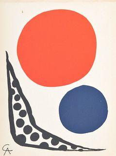 Alexander Calder (after) Print, Paige Rense Noland Estate