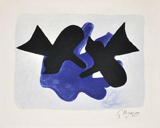 Large Georges Braque Poster, Paige Rense Noland Estate