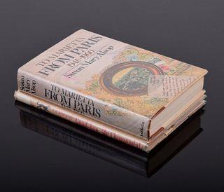 2 Author-Signed Books, Paige Rense Noland Estate