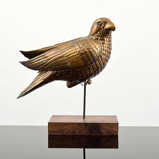 Large Sergio Bustamante Parrot Sculpture, Signed Edition, Paige Rense Noland Estate