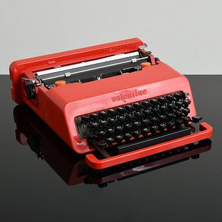 """Ettore Sottsass """"Valentine"""" Typewriter, Paige Rense Noland Estate"""