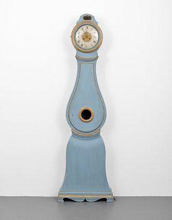 Mora Style Floor Clock, Paige Rense Noland Estate