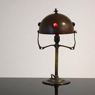 Jugendstil Art Nouveau Lamp, Paige Rense Noland Estate