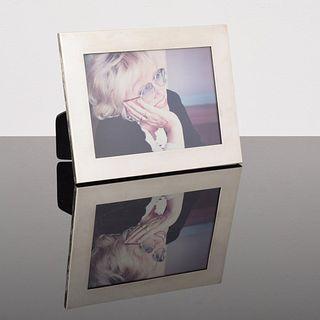 Tiffany Sterling Silver Frame, Paige Rense Noland Estate