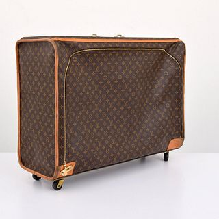 Large Louis Vuitton Monogrammed Suitcase