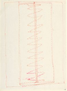 Louise Bourgeois Drawing