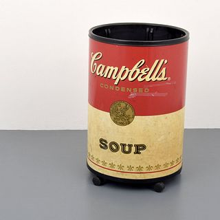 Large Campbell's Soup Cooler, Andy Warhol Design