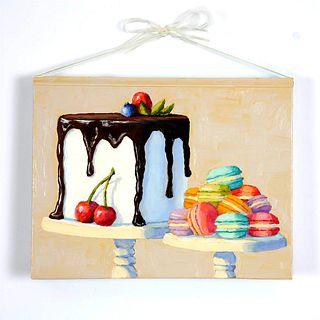 "Pat Doherty ""Tuxedo Cake and Macarons"""