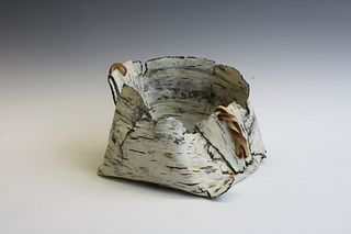 Paper Birch Basket #1