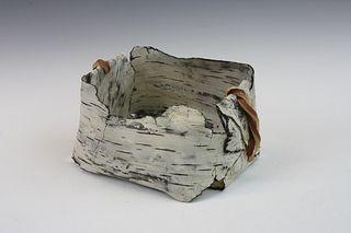 Paper Birch Basket #3