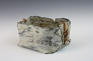Paper Birch Basket #4