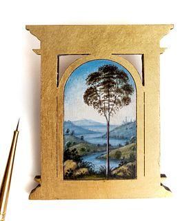 Perugino Tree Pin/Pendant