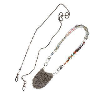 MPR x THE IMAGINARIUM: Silver Sak Purselet Necklace