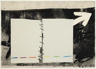 Antoni T?pies, Diptyque, 1976