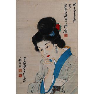PORTRAIT OF A LADY, ZHANG DAQIAN