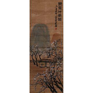 LANDSCAPE ON PAPER, QI BAISHI