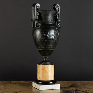Italian Neoclassical Style Bronze Krater, After the Antique