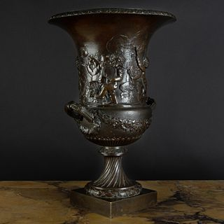 European Bronze Campana-Formed Urn