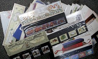 <p>Stamps. Assortment of approximately 50 First Day Covers 1970s and 1980s, and various loose stamps