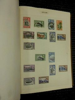 Stamps. A carrier containing a selection of stock books, FDCs, and many mint stamps in folder